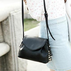 Ballerina Bags - Studded Flap Crossbody