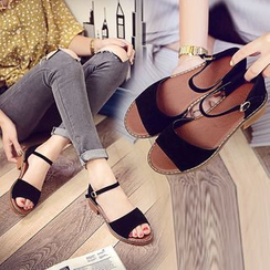 Simply Walk - Buckled Sandals