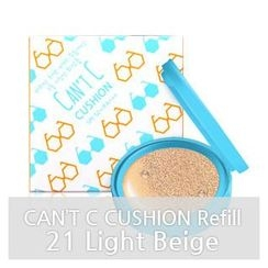 y.e.t - Can't C Cushion SPF50+ PA+++ Refill Only (#21 Light Beige)