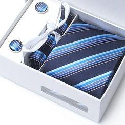 Xin Club - 条纹领带礼盒装