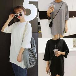 CosmoCorner - 3/4-Sleeve T-Shirt Tunic