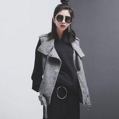 Sonne - Lapel Wool Vest