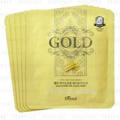 Freeset - Gold Hydro Gel Facial Mask