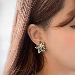HEDGY - Crystal Star Earrings