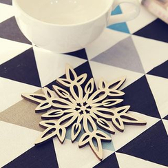 OH.LEELY - Snowflake Cup Mat