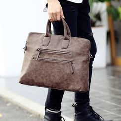 ETONWEAG - Faux Leather Briefcase