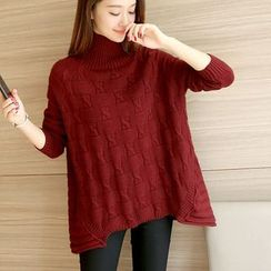 Bubbleknot - High Neck Sweater