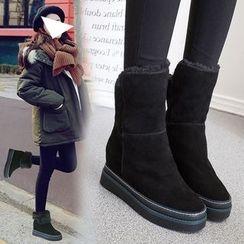 Yoflap - Platform Short Boots