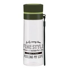 Skater - Fine Style Drinking Bottle (Green)