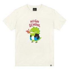 the shirts - Crocodile Print T-Shirt