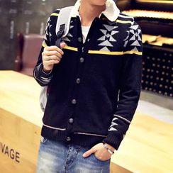 RIVOLO - Patterned Knit Jacket