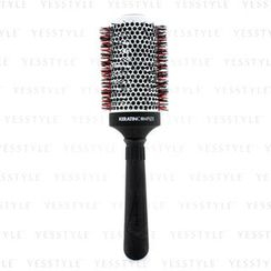 Keratin Complex - Ceramic Technology Nano-Sliver Ions Heat Resistant Ceramic+Ionic Round Brush (3.5 Inch)
