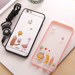 Casei Colour - Silicone iPhone 5s  / iPhone 6 / iPhone 6 plus Case with Strap