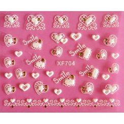 Maychao - 3D Nail Sticker (XF704)