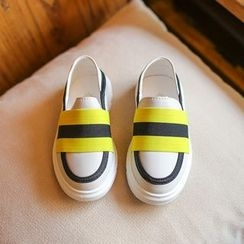Hambu - Kids Color Block Slip-Ons