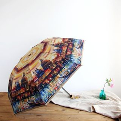 Timbera - Painting Print 3-Folded Umbrella