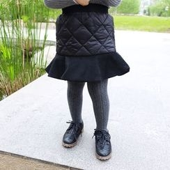CUBS - Kids Ruffle Fleece-lined Skirt