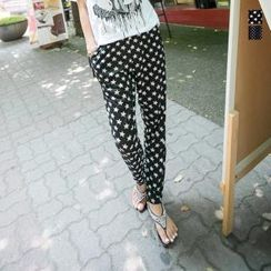 J-ANN - 2 Design Print Pants