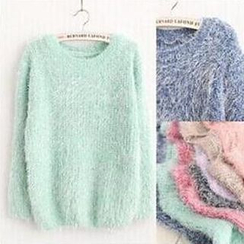 FR - Plain Furry Sweater