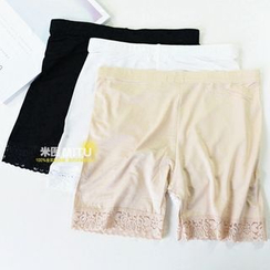 MITU - Lace Boy Shorts