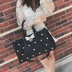Denyard - Faux-Pearl Carryall Bag