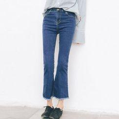 TREEZIN - Boot-Cut Jeans