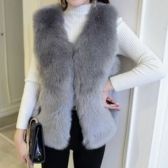 Shatan - Faux Fur Vest