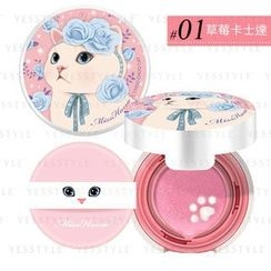 Miss Hana - Choo Choo Cat Air Cushion Blusher (#01 Pink)