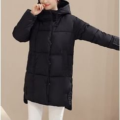 Dream Girl - Hooded Long Padded Coat