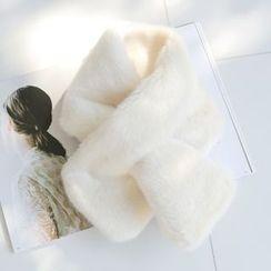 WITH IPUN - Faux-Fur Scarf