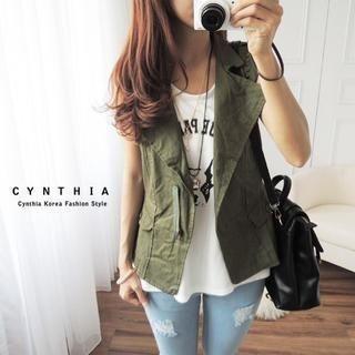 CYNTHIA - Studded Vest