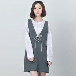 BORAN - Sleeveless A-line Dress