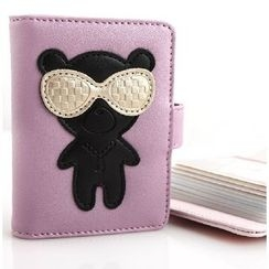 MILESI - Faux-Leather Cartoon Card Holder