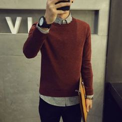 Hansler - Long-Sleeve Knit Top