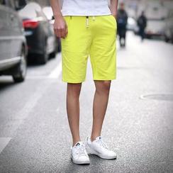 Alvicio - 纯色短裤