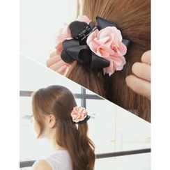 soo n soo - Faux-Pearl Flower Hair Claw