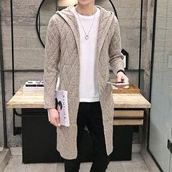 YONDER - Hooded Long Cardigan
