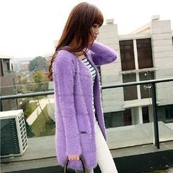 Hibisco - Furry Long Cardigan