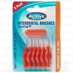 Beauty Formulas - Intenrdental Brushes (0.45mm)