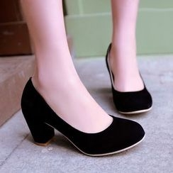 Pristeen - Block Heel Pumps