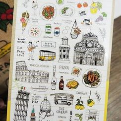 Paper House - Roman Diary Stickers
