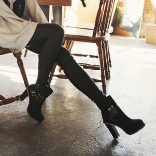 Koo - Faux-Leather Leggings