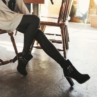Koo - Faux-Leather Leggings