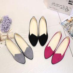 EMIL - 纯色平跟鞋