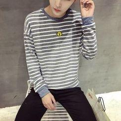 Soulcity - Striped Pullover