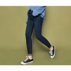 HOTPING - Plain Skinny Jeans