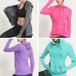 Wheatfield - Plain Sport Hooded Jacket