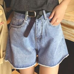 Shimi - Loose-fit Denim Shorts