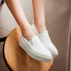 JY Shoes - Platform Slip Ons