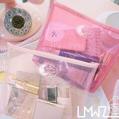 LMWZ - Glitter Transparent Pouch / Cosmetic Bag